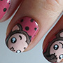 nail-art-134-monkey-kawaii